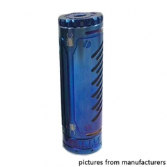 Bettle Craft Style 18650 Hybrid Mechanical Mod - Blue
