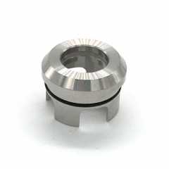 Ulton 810 Top Cap for Korina Atomizer - Silver