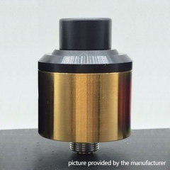 Odis OAtty V2 Styled 24mm RDA Rebuildable Dripping Atomizer - Gold