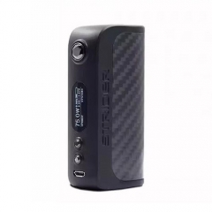 Authentic Asvape Strider 80W TC VW APV Box Mod 18650/26650 - Carbon Fiber Black