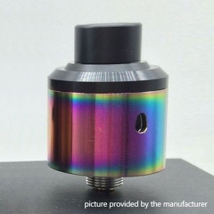 Odis OAtty V2 Styled 24mm RDA Rebuildable Dripping Atomizer - Rainbow
