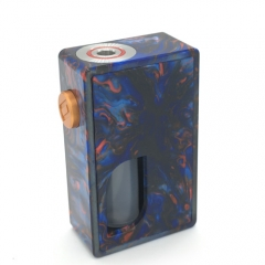 Ontech Ro 18650 Resin 8ml Bottom Feeding/ Squonky Mechanical Mod - Blue