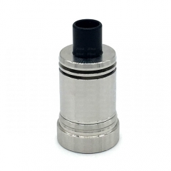 Ulton Das Ding V3 Styled  RDA Rebuildable Dripping Atomizer w/ Bottom Feeding Pin/ Logo - Silver