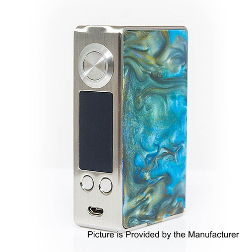 Aleader Funky 160W TC VW Variable Wattage Box Mod - Silver