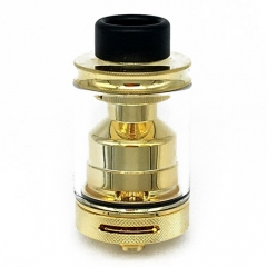 PTI Style 24mm 316SS RTA Rebuildable Tank Atomizer - Gold