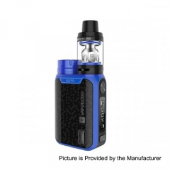 Authentic Vaporesso Swag 80W Kit w/ NRG SE Tank Clearomizer 3.5ml Version- Blue