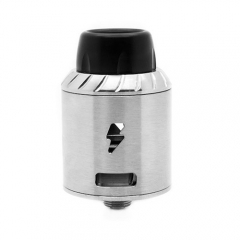 Authentic Ampus Screwless 24.5mm RDA Rebuildable Dripping Atomizer - Silver