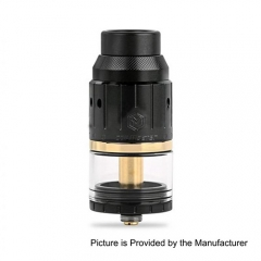 Authentic Coil Master Genesis 25mm RDTA Rebuildable Dripping Tank Atomizer - Black