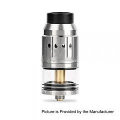 Authentic Coil Master Genesis 25mm RDTA Rebuildable Dripping Tank Atomizer - Silver