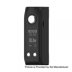 Authentic ALPHAFOX Mini Bolt 80W TC VW APV Box Mod - Black