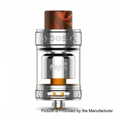 Authentic OBS Crius II 25mm RTA Rebuildable Tank Atomizer - Silver