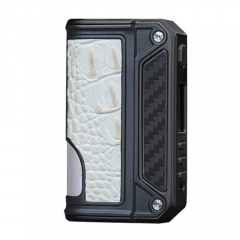 Authentic Lost Vape Therion BF Squonker DNA75C TC VW APV Box Mod - CF+ White Crocodile