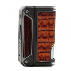 Authentic Lost Vape Therion BF Squonker DNA75C TC VW APV Box Mod - Wood+ Crown Bull