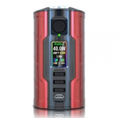 Authentic VapeCige Creator DNA75C 75W TC VW APV Mod - Red + Black