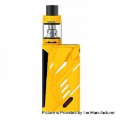 Authentic SMOK T-PRIV 220W TC VW Variable Wattage Mod + TFV8 Big Baby Tank Standard Kit -  Yellow