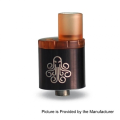 Authentic Cthulhu MTL RDA Rebuildable Dripping Atomizer w/ BF Pin - Black