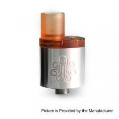 Authentic Cthulhu MTL RDA Rebuildable Dripping Atomizer w/ BF Pin - Silver