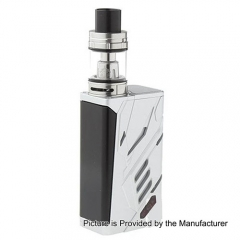 Authentic SMOK T-PRIV 220W TC VW Variable Wattage Mod + TFV8 Big Baby Tank Standard Kit - Silver