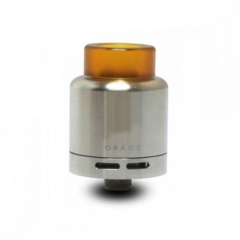 ORAGE Styled 24mm RDA Rebuildable Dripping Atomizer - Silver