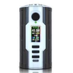 Authentic VapeCige Creator DNA75C 75W TC VW APV Mod - Black + White
