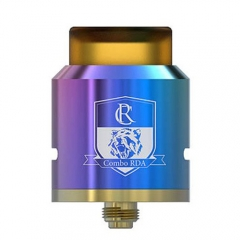 Combo Style RDA 25mm Rebuildable Dripping Atomizer - Rainbow
