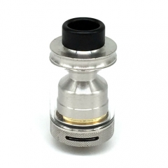 PTI Style 24mm 316SS RTA Rebuildable Tank Atomizer - Silver