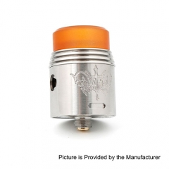 Rapture Style 24mm RDA Rebuildable Dripping Atomizer - Silver