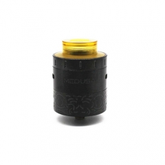 Medusa Style RDA Rebuildable Dripping Atomizer - Black