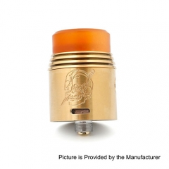 Rapture Style 24mm RDA Rebuildable Dripping Atomizer - Gold