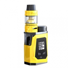 Authentic IJOY CAPO 100 100W TC VW APV Mod Kit w/ Battery / Atomizer - Yellow