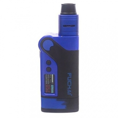 Authentic Sigelei Fuchai Vcigo K2 175W TC VW APV Box Mod + Cubic RDA Kit - Blue