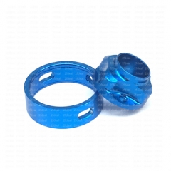 Ulton Replacement Top Cap and Airhole Ring for SQ Emotion Atomizer - Blue