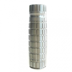 Apocalypse Styled 18650 Mechanical Mod - Silver