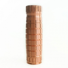 Apocalypse Styled 18650 Mechanical Mod - Copper