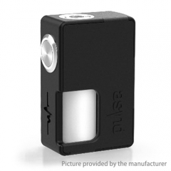 Authentic Vandy Vape Pulse 18650/20700 BF Squonk Mechanical Box Mod w/8ml Bottle - Black