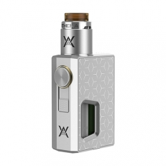 Pre-sale Authentic GeekVape Athena Squonk Mechanical Box Mod + BF RDA Squonker Kit /6.5ml  - Silver