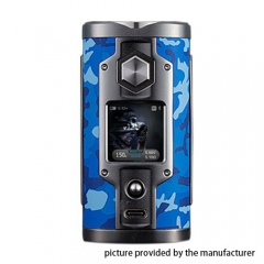Authentic YiHi SX mini G Class YiHi SX550J 200W TC VV Box Mod - Camouflage Blue