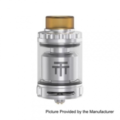 Authentic Vandy Vape Triple 28mm RTA 4ml Rebuildable Tank Atomizer - Silver