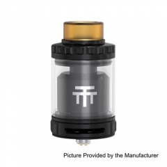 Authentic Vandy Vape Triple 28mm RTA 4ml Rebuildable Tank Atomizer - Black