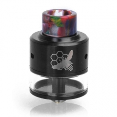Authentic Aleader Little Bee 24mm RDTA Rebuildable Dripping Tank Atomizer - Black