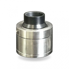 YFTK Sentinel Styled 316SS BF RDA Rebuildable Dripping Atomizer w/ Bottom Feeding Pin  - Silver