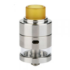 Authentic Cthulhu Mods Gaia RDTA Rebuildable Dripping Tank Atomizer - Silver