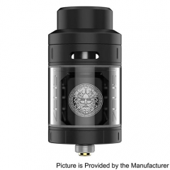 Authentic  Zeus 25mm RTA Rebuildable Tank Atomizer 4ml Version - Black