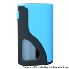 Authentic Yiloong S18 Squonk Mechanical Box Mod w/ 8ml Bottle - Blue