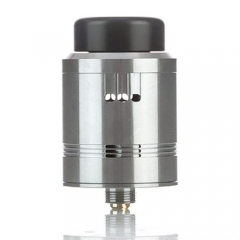 Cartel Obelisk Style 24mm RDA Rebuildable Dripping Atomizer - Silver