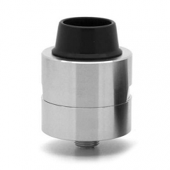 Sleeper Style 24mm RDA Rebuildable Dripping Atomizer - Silver