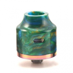Authentic Oumier Wasp Nano RDA Rebuildable Dripping Atomizer w/ Bottom Feeding Pin - Green