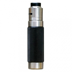 Authentic Wismec Reuleaux RX Machina Mechanical Mod + Guillotine RDA Kit - Knurled Blackout