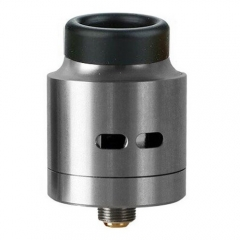 Authentic Wismec Guillotine 24mm RDA Rebuildable Dripping Atomizer - Silver