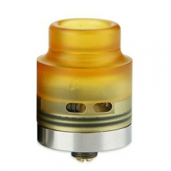 Authentic Wismec Guillotine 24mm RDA Rebuildable Dripping Atomizer - Yellow